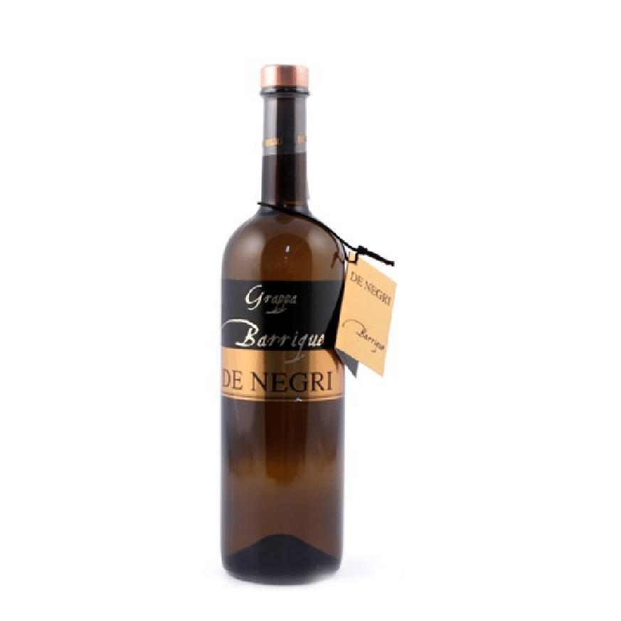 visuel bouteille de grappa De Negri
