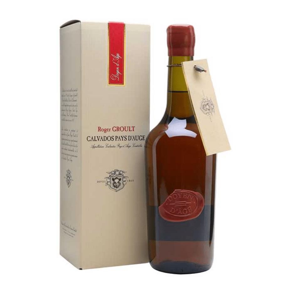 Visuel bouteille Calvados Groult Doyen d'âge