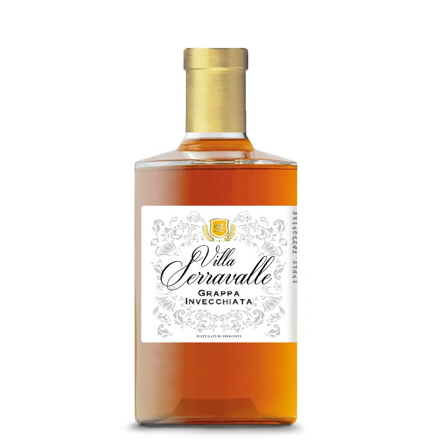 Photo bouteille Grappa Villa Serravalle