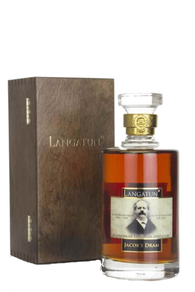 Photo bouteille whisky Langatun Jacob's Dram