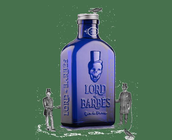 Visuel bouteille de gin Lord Of Barbès