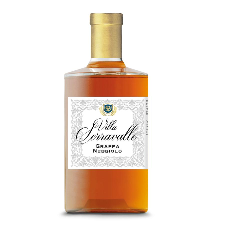 Visuel bouteille de grappa de Nebbiolo