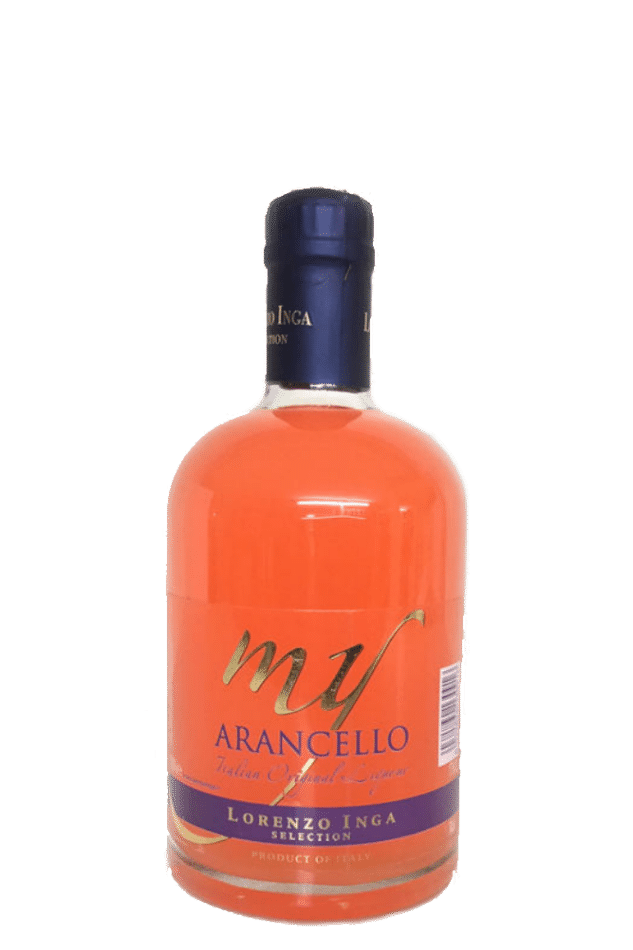visuel bouteille Arancello Lorenzo Inga