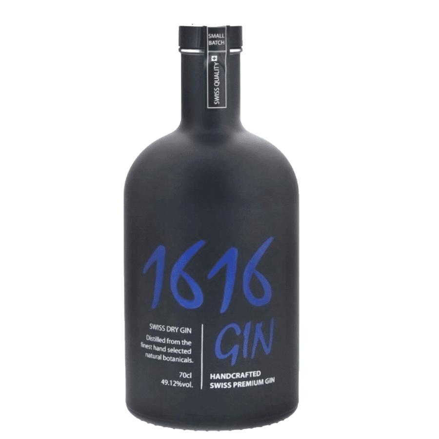 Visuel bouteille Gin 1616