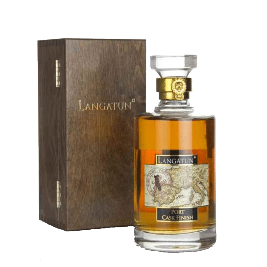 Visuel bouteille whisky Langatun | Port Cask finish