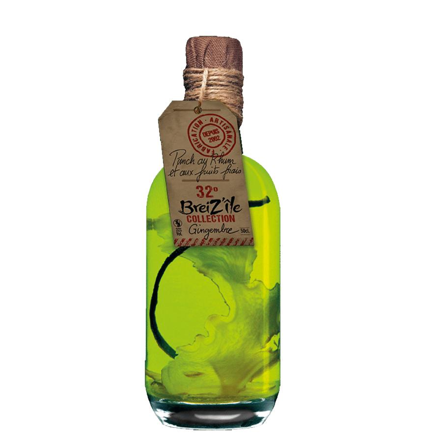 visuel bouteille rhum gingembre
