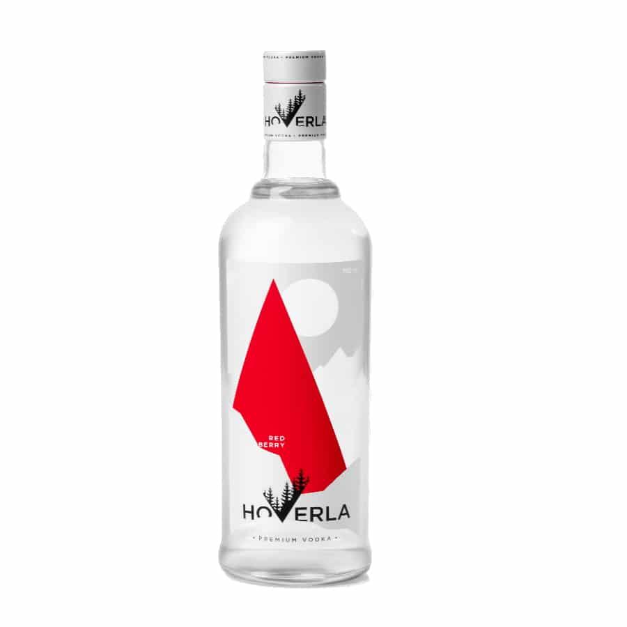 visuel Hoverla vodka Red berry