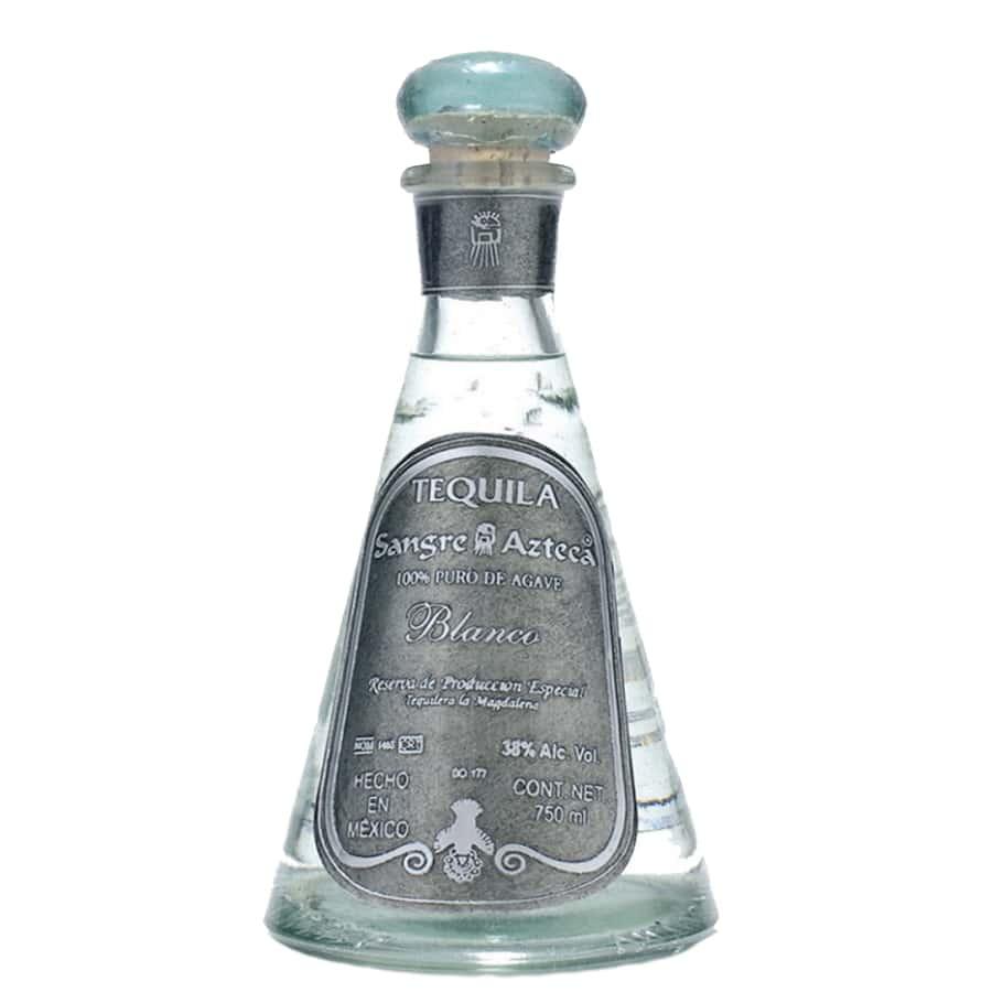 visuel tequila Sangre azteca blanco